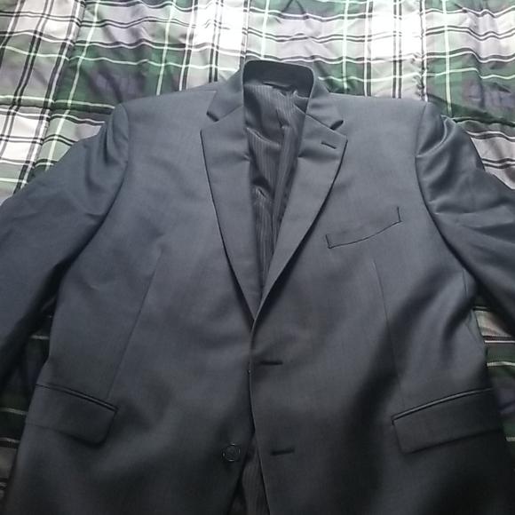Calvin Klein Other - Calvin klein 100% wool suit jacket navy